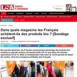 Dans quels magasins les Français...