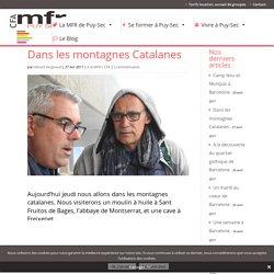 Dans les montagnes Catalanes avec le CFA MFR Puy-Sec