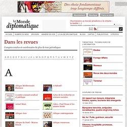 Dans les revues - Le Monde diplomatique