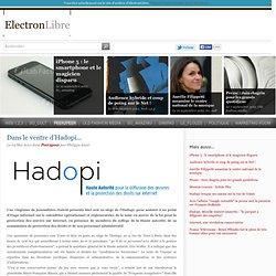 Dans le ventre d'Hadopi... - Peer2peer - ElectronLibre