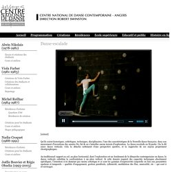 CNDC Angers - Danse-escalade - 1986