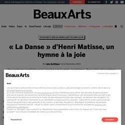 « La Danse » d'Henri Matisse, un hymne à la joie