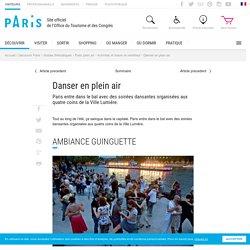 Danser en plein air Paris