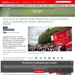 Just Dance et Coca-Cola font danser les villes de France avec la tournée « MoveMyCity »