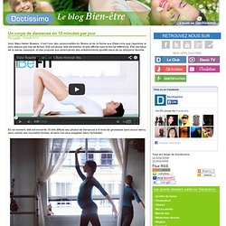Un corps de danseuse en 15 minutes par jour
