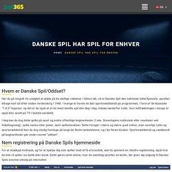 Danske Spil har spil for enhver – My Blog