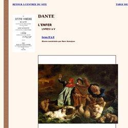 Dante : L'Enfer (I à V)