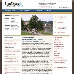 Danube Bike Path 7 nights