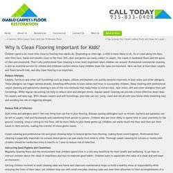 Danville Clean Flooring - Clean Flooring for Kids - Alamo Clean Flooring