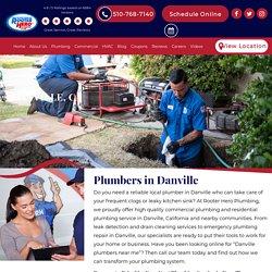 Reliable Local Plumbers in Danville, CA