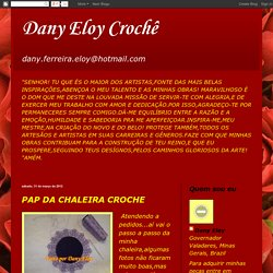 Dany Eloy Crochê: PAP DA CHALEIRA CROCHE