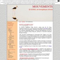 DaoYin YangSheng Gong · MOUVEMENTS