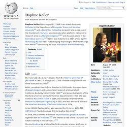 Daphne Koller - Wikipedia