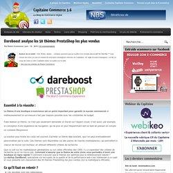 Dareboost analyse les 50 thèmes PrestaShop les plus vendus