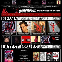 Daredevil: The Man Without Fear @ WWW.MANWITHOUTFEAR.COM - Your trusted source for all things Daredevil since 1996!