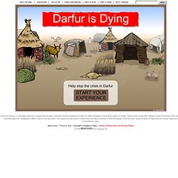 Darfur Is Dying - Play mtvU's Darfur refugee game for change