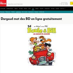 Dargaud met des BD en ligne gratuitement