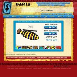 Daria - World Music for Children - Instruments: Guiro