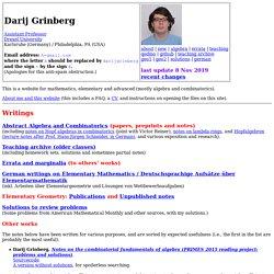 Darij Grinberg