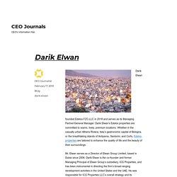 Darik Elwan – CEO Journals