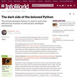The dark side of the beloved Python