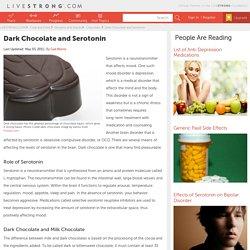 Dark Chocolate And Serotonin