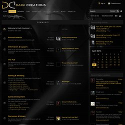 Dark Creations Modding Community Forums