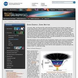 Dark Energy, Dark Matter