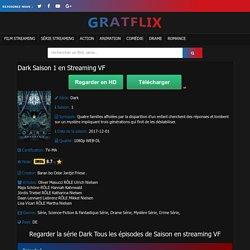 Dark Saison 1 en Streaming VF