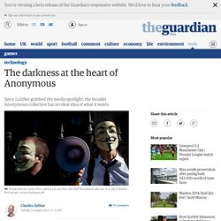 The darkness at the heart of Anonymous