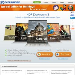 HDR Darkroom 3 – Best HDR software with the ultimate ease-of-use
