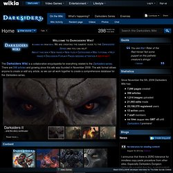 Darksiders Wiki - Wrath of War, Weapons, Enemies, Collectibles, Abilities, and more!