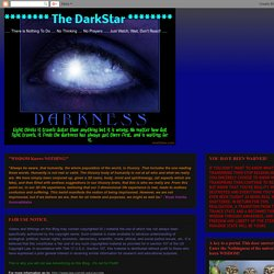******** The DarkStar ********: The One Minute Cure Part 2 - The Secret to Healing Virtually All Diseases!