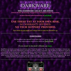 DARKWARE: THE LEGACY