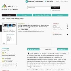 Michel Bréal et Arsène Darmesteter: deux savants juifs face au langage, aux langues et au pouvoir