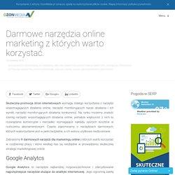 Darmowe narzędzia online marketing - OzonMedia Wrocław - SEO / SEM
