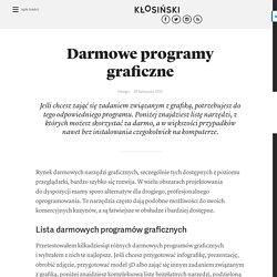 Darmowe programy graficzne