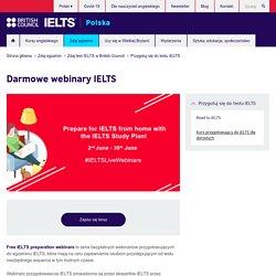 Darmowe webinary IELTS