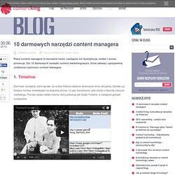 10 darmowych narzędzi content managera