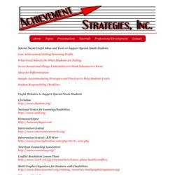 Dr. Bobb Darnell - Achievement Strategies, INC.