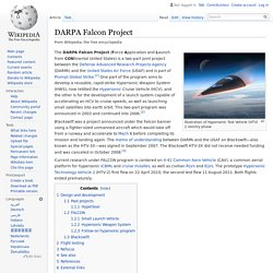 DARPA Falcon Project