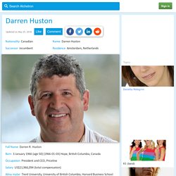 EveryThing You Need To Know About Darren Huston