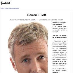 Darren Tulett Exclusif