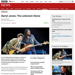 Darryl Jones: The unknown Stone