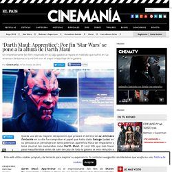 'Darth Maul: Apprentice': Por fin 'Star Wars' se pone a la altura de Darth Maul