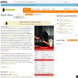 Darth Maul - Jawapedia, il wiki di Star Wars