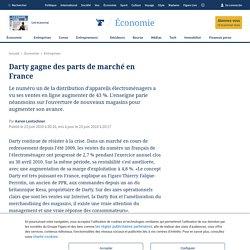 Darty gagne des parts de marché en France