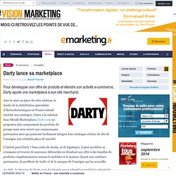 Darty lance sa marketplace avec Mirakl