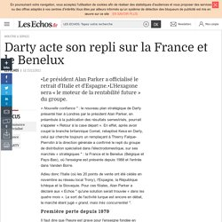 Darty acte son repli sur la France et le Benelux