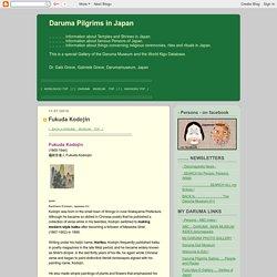 Daruma Pilgrims in Japan: Fukuda Kodojin